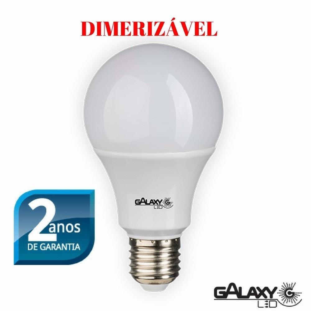 Lâmpada de Led Bulbo Dimerizável Bivolt 9,5W Concept Galaxy