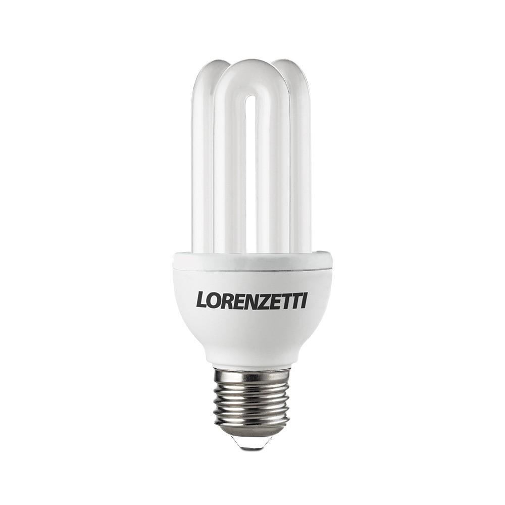 Lâmpada Eletrônica 3U Mini 9W 127V Lorenzetti