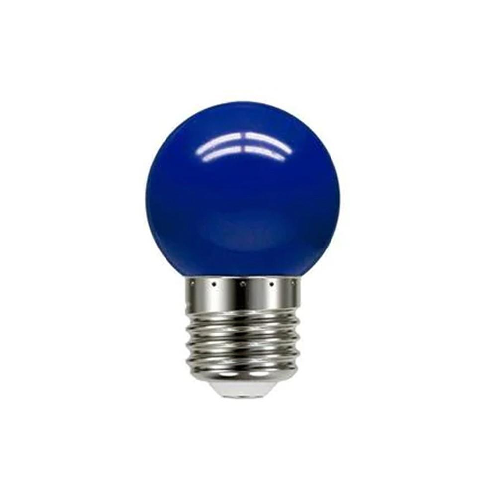 Lâmpada Iluminação Bolinha Azul 6W Bivolt LM281 Luminatti
