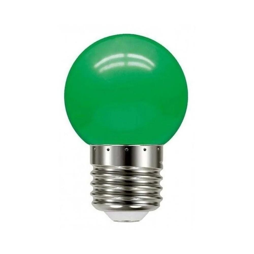 Lâmpada Iluminação Bolinha Verde 6W Bivolt LM280 Luminatti