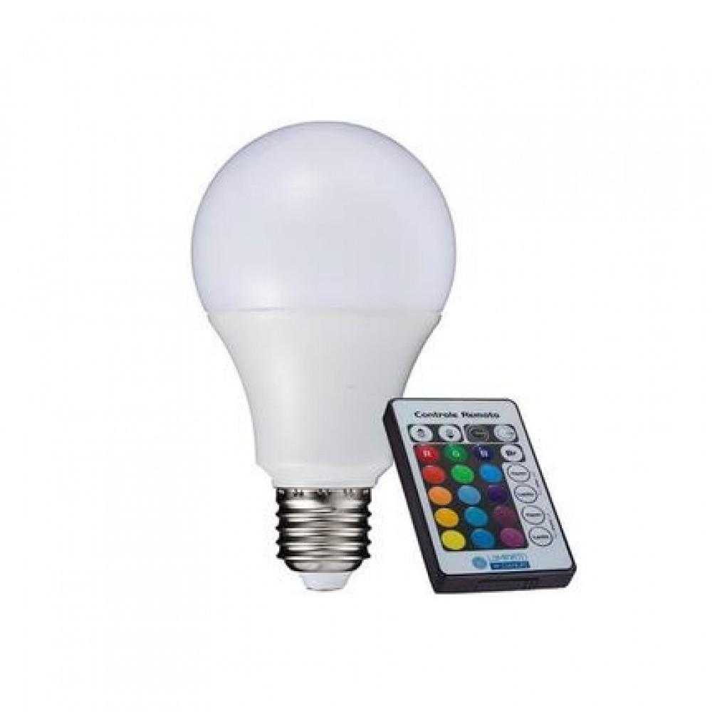 Lâmpada LED Bulbo 3,5W com Controle Remoto LM340 Luminatti
