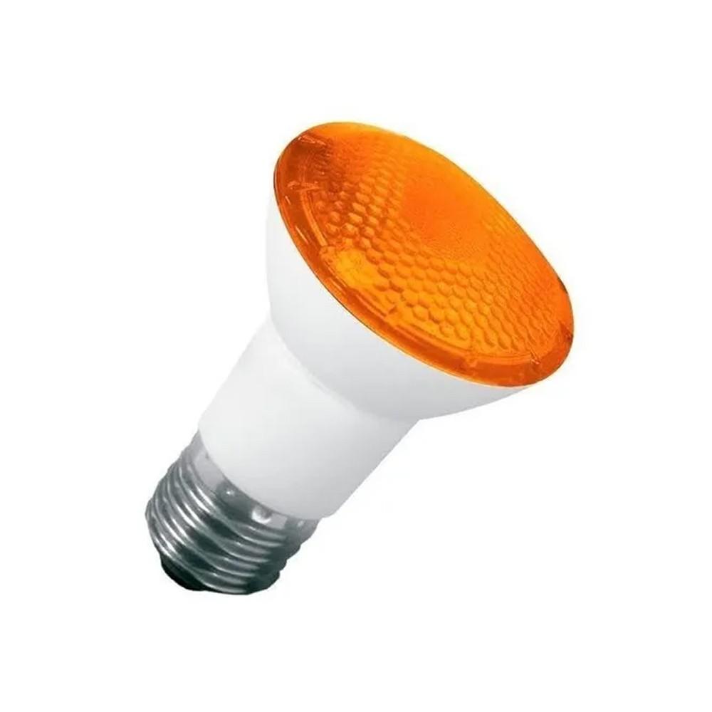 Lâmpada Par 20 de LED Âmbar 6W Bivolt IP65 LM163 Luminatti