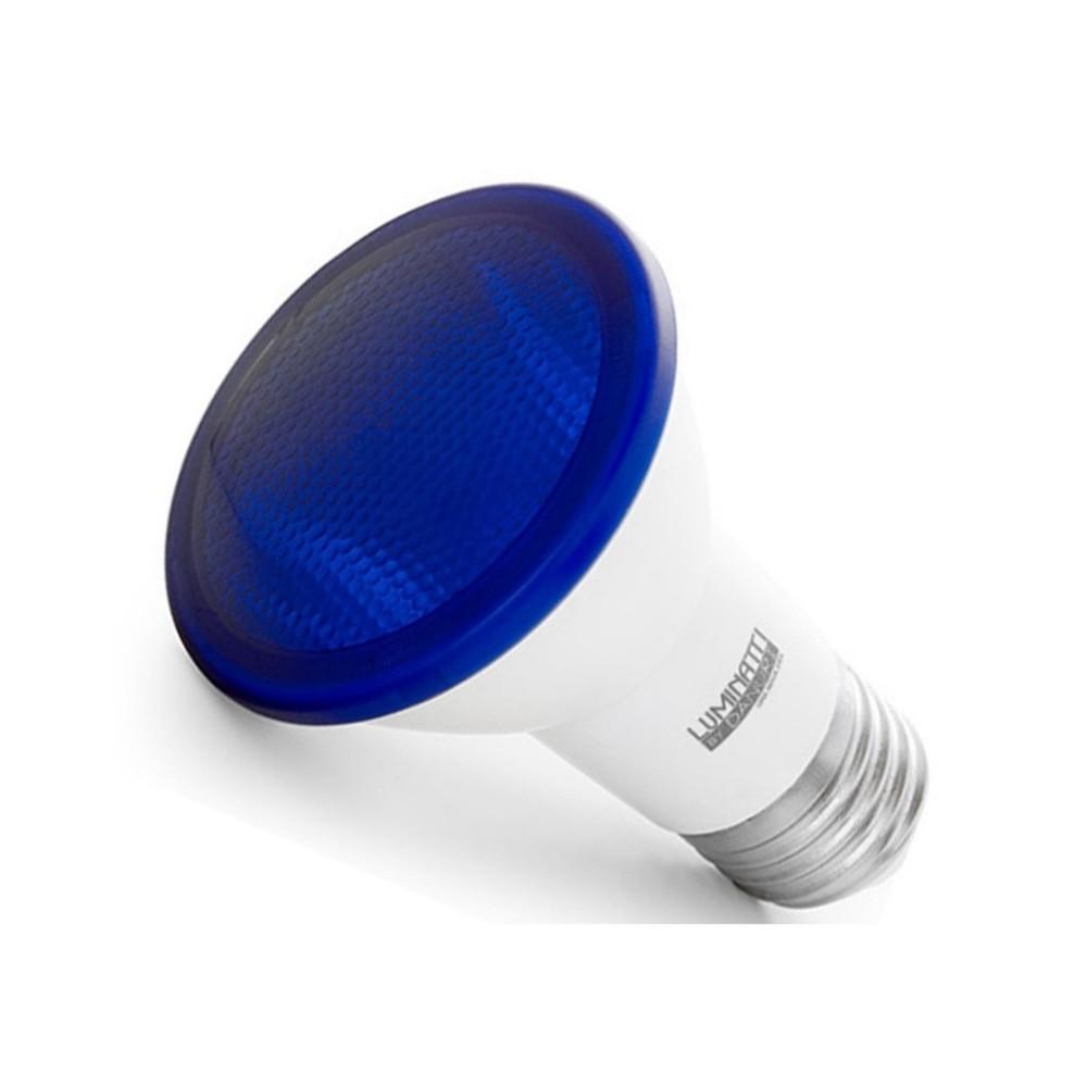 Lâmpada Par 20 de LED Azul 6W Bivolt IP65 LM162 Luminatti