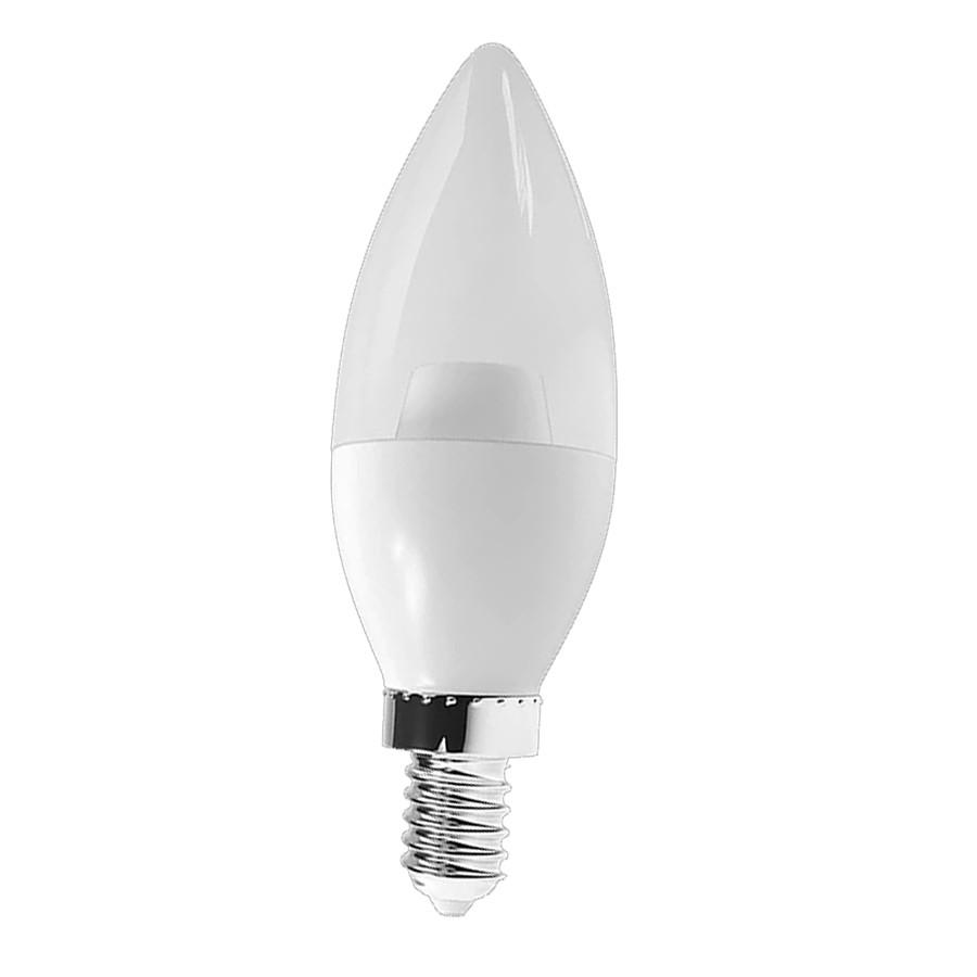 Lâmpada Vela LED Cristal 186° Branco Quente LM968 Luminatti