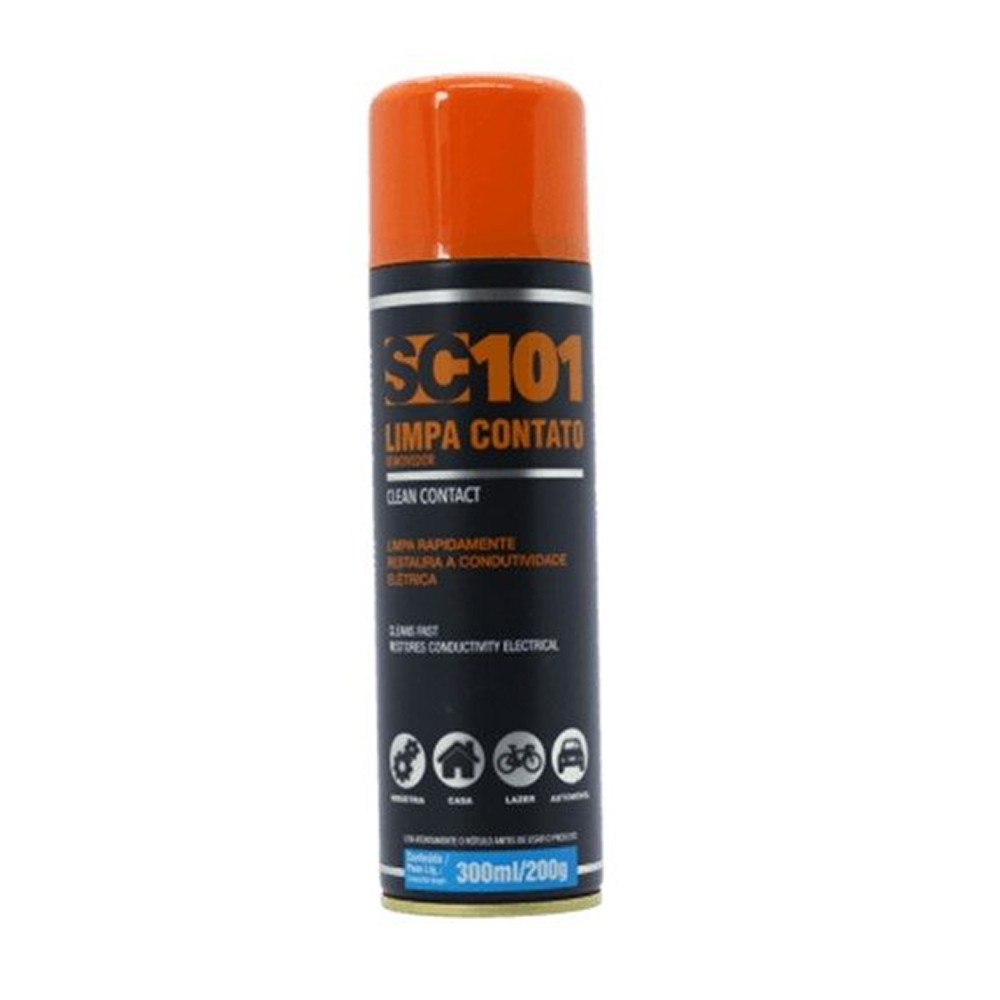 Limpa Contatos Eletrônicos Aerossol 300ml/200g SC101 Sieger