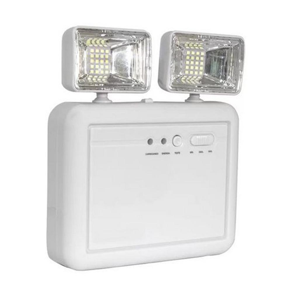 Luminária de Emergência Compacta Power Line 1200 de 8W Elgin
