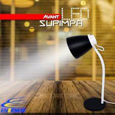 Luminária de Mesa LED 4W Preto Supimpa Avant