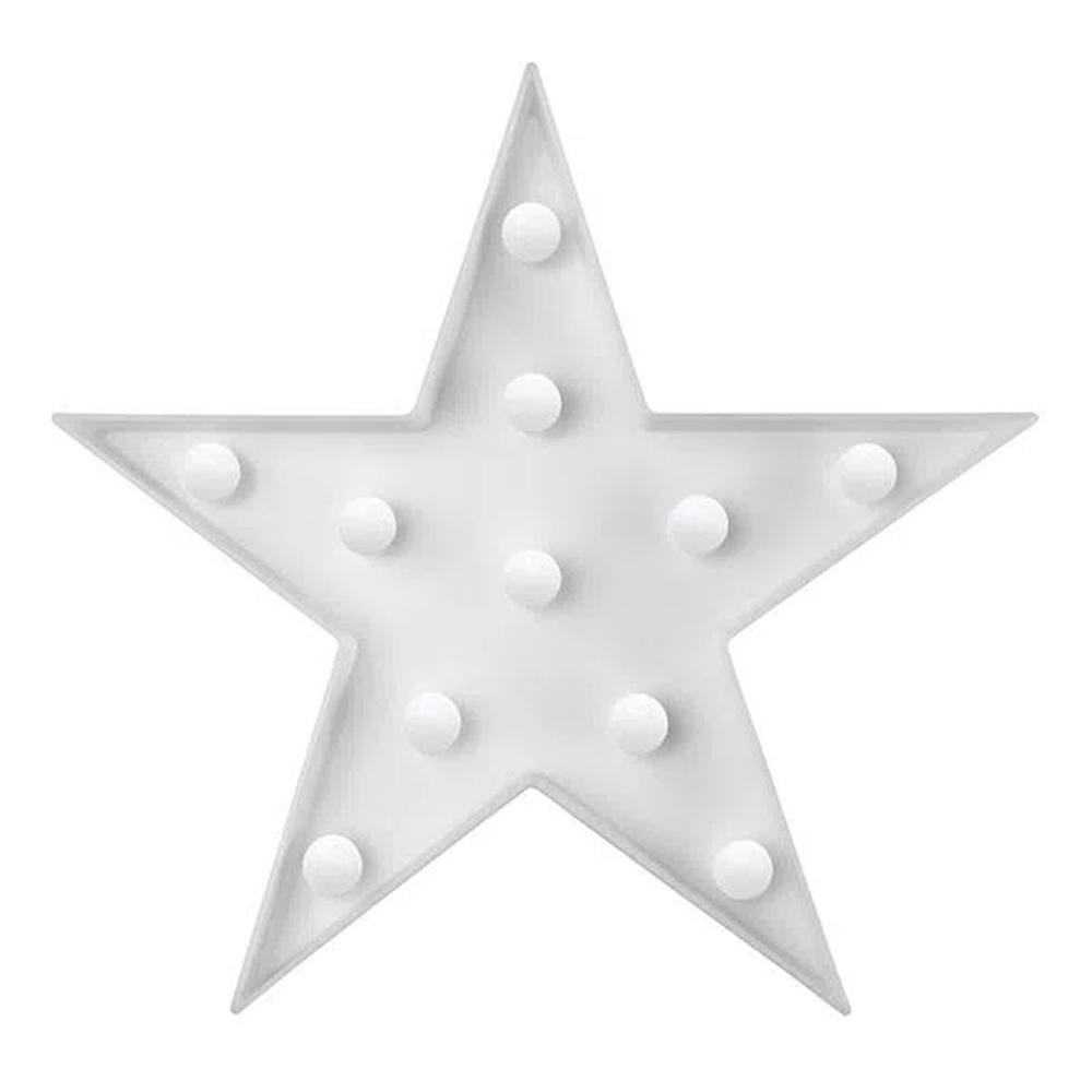 Luminária Estrela Branca Dots Decor 0,5W 48LIED050000 Elgin