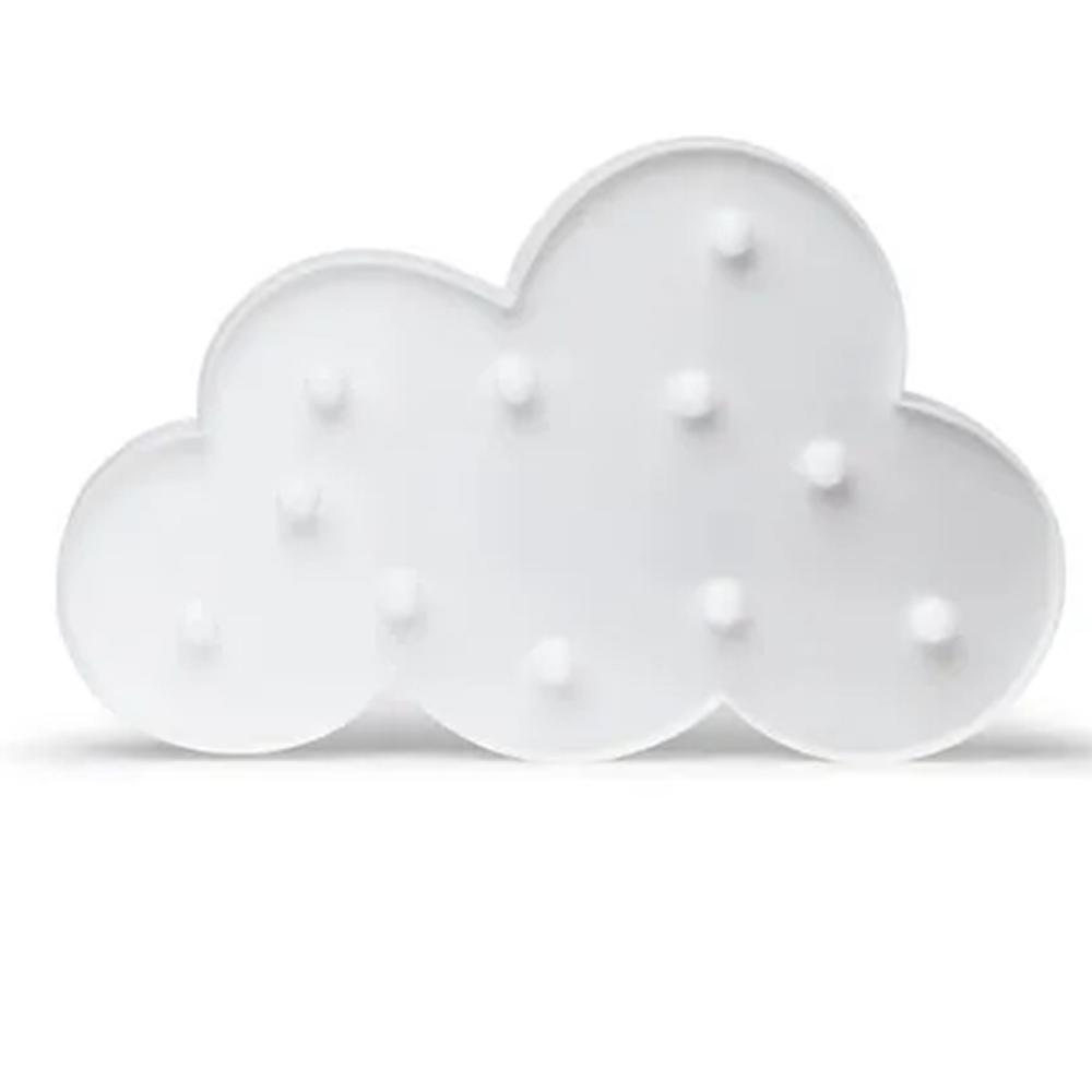 Luminária Nuvem Branca Dots Decor 0,5W 48LIND050000 Elgin