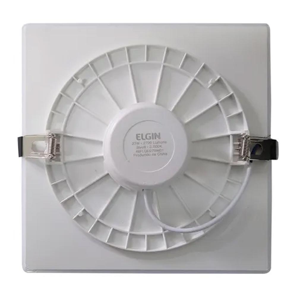 Luminária Painel Led Infinity Quadrado 6500K Biv 15W Elgin