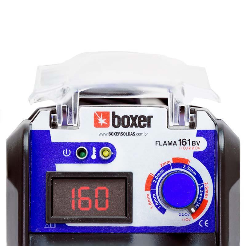 Máquina de Solda Inversora Boxer Flama 161 BV ? Bivolt