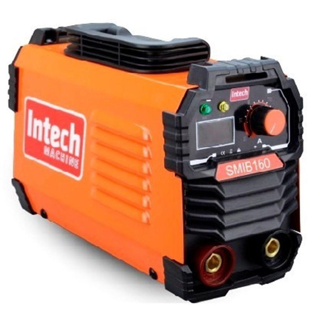 Maquina Inversora de Solda 160A Digital Bivolt SMIB160 Intech