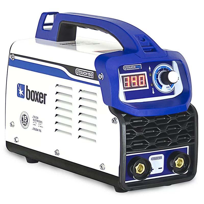 Máquina Inversora de Solda Touch 150BV Boxer Bivolt