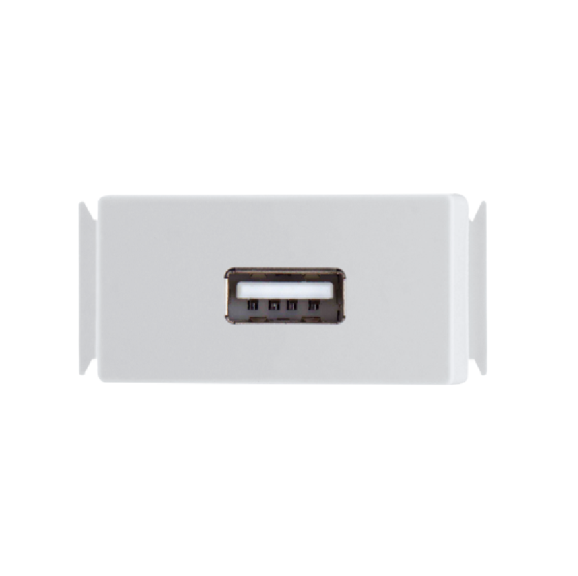 Módulo p/ Tomada USB 1,5A Bivolt Aria 57217041- Tramontina