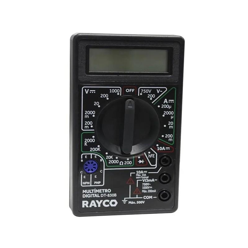Multímetro Digital 12441 Rayco
