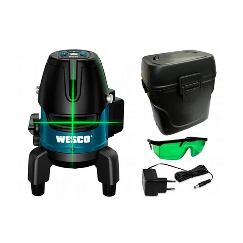 Nível a Laser Recarregável Linha Verde 3.7V WS8911K Wesco