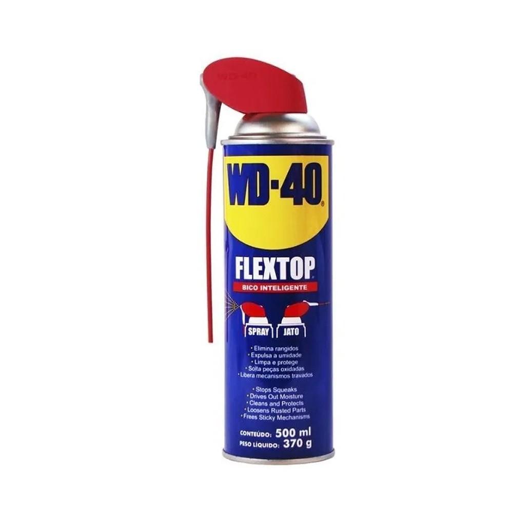 Óleo Desengripante Multiusos Flextop Spray 500ml/370g WD-40