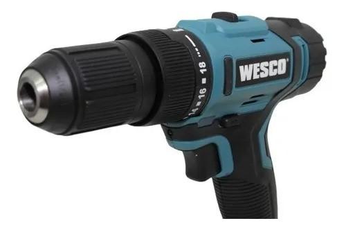 Parafusadeira de Impacto Bateria 18V Bivolt WS2937K2 Wesco