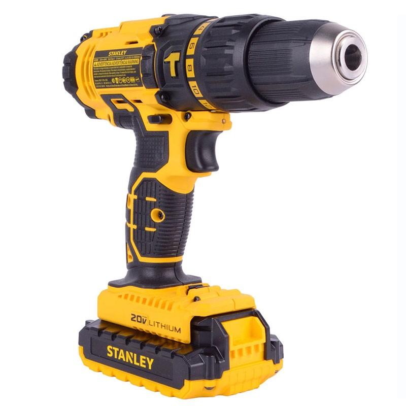 Parafusadeira/ Furadeira Impacto 20V MAX 1/2Pol. Stanley