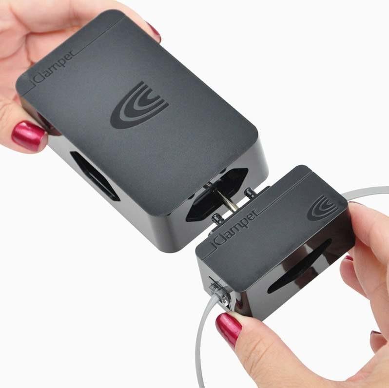 Protetor Contra Raios Módulo para Telefone Clamper