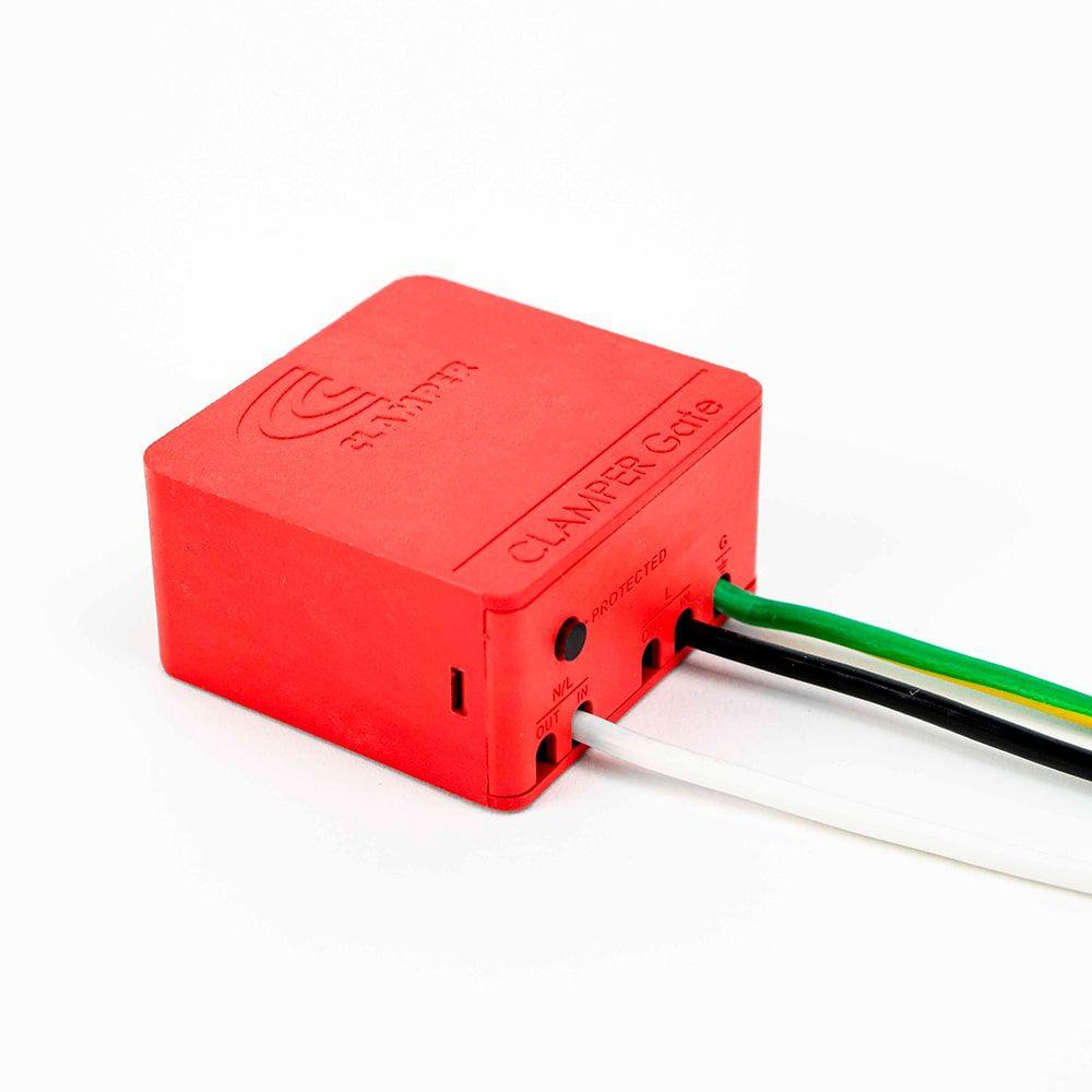 Protetor Contra Surtos para Portão Eletrônico DPS Gate Clamper