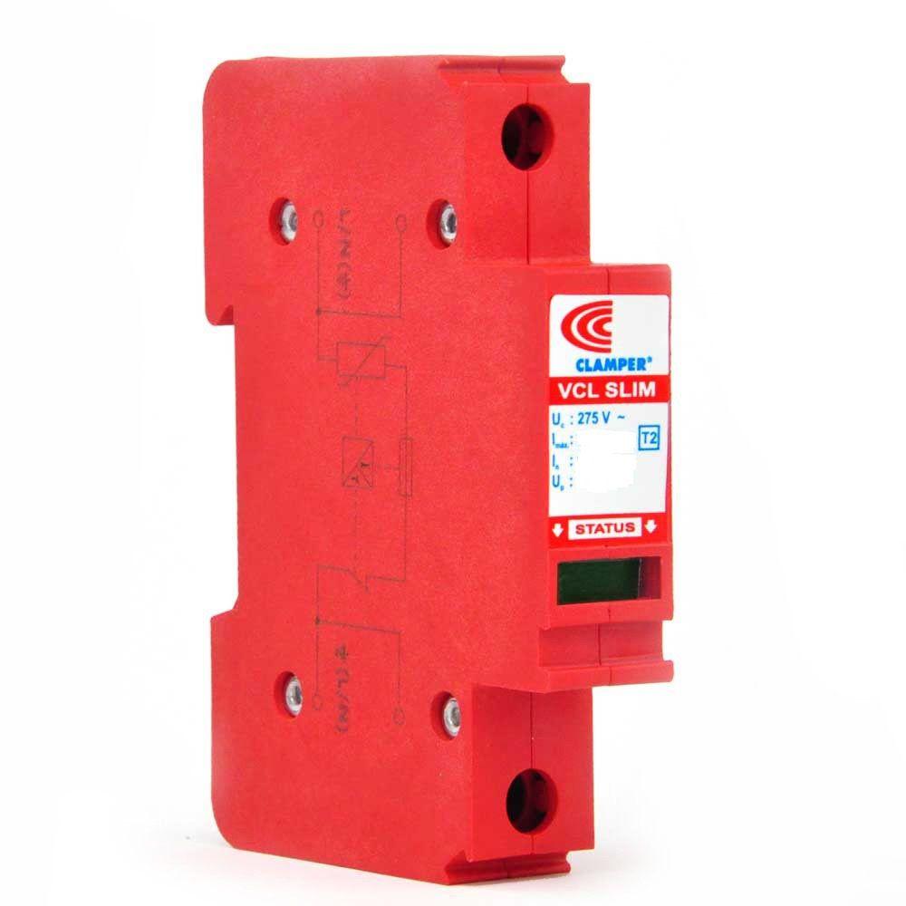 Protetor Contra Surtos VCL Slim 12,5/60KA 275V Clamper