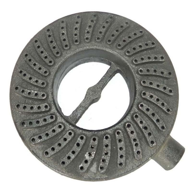 Queimador Real 185mm Em Ferro Fundido