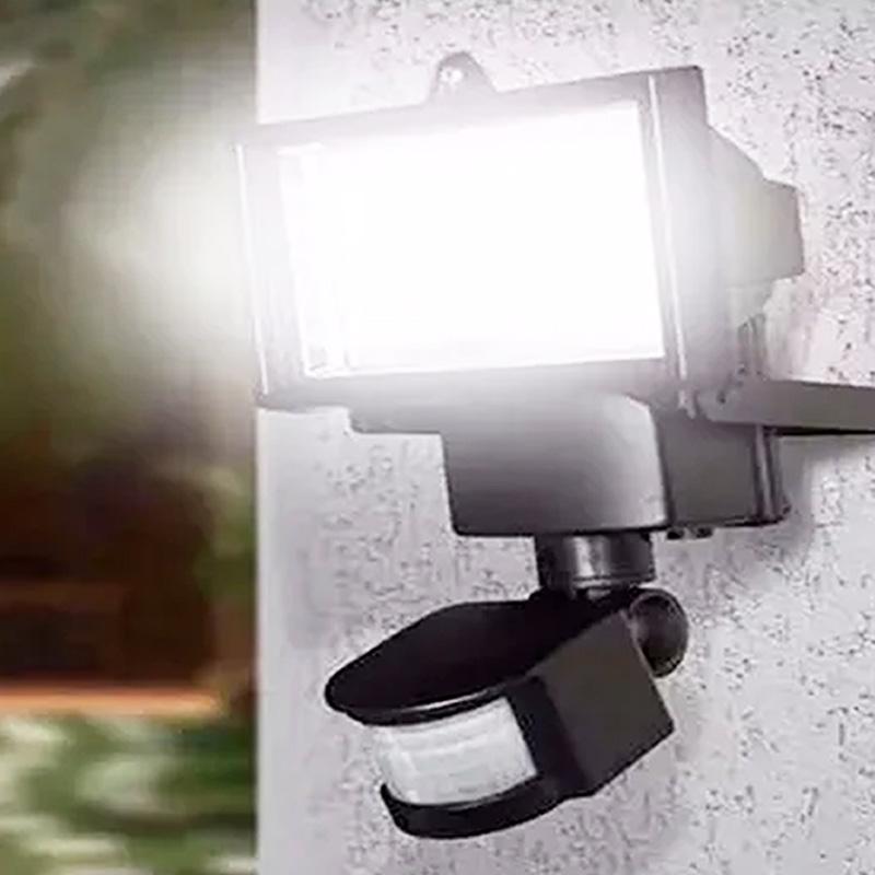Refletor Solar 60 LEDS com Sensor de Movimento 9206 Ecoforce