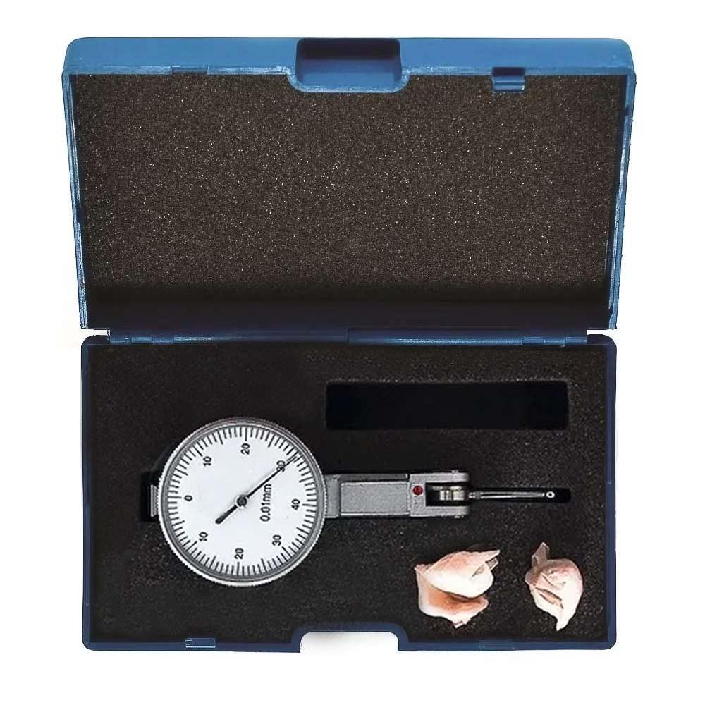 Relógio Apalpador de Aço Alta Precisão 08 X 001MM 5LF Eda