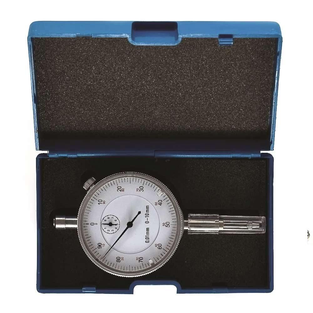 Relógio Comparador Compacto 0 a 10 Divisão de 0,01MM 4AC Eda