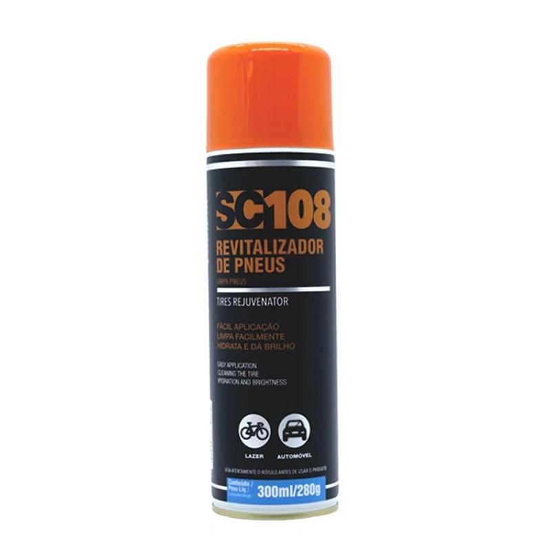 Revitalizador Brilho p/ Pneus Spray 300ml/280g SL108 Sieger