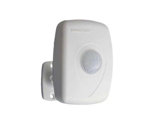 Sensor de Presença Multifuncional Parede 180º Qa21M Qualitronix