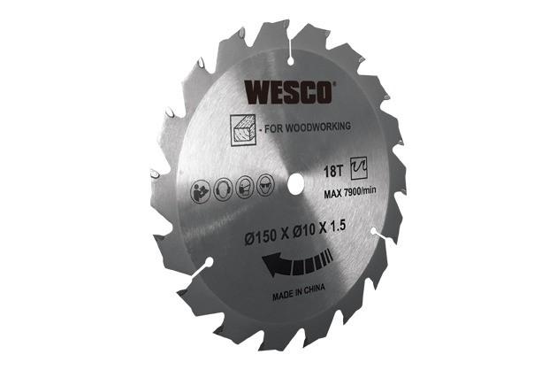 Serra Circular a Bateria 18V 150mm Bivolt WS2934 Wesco