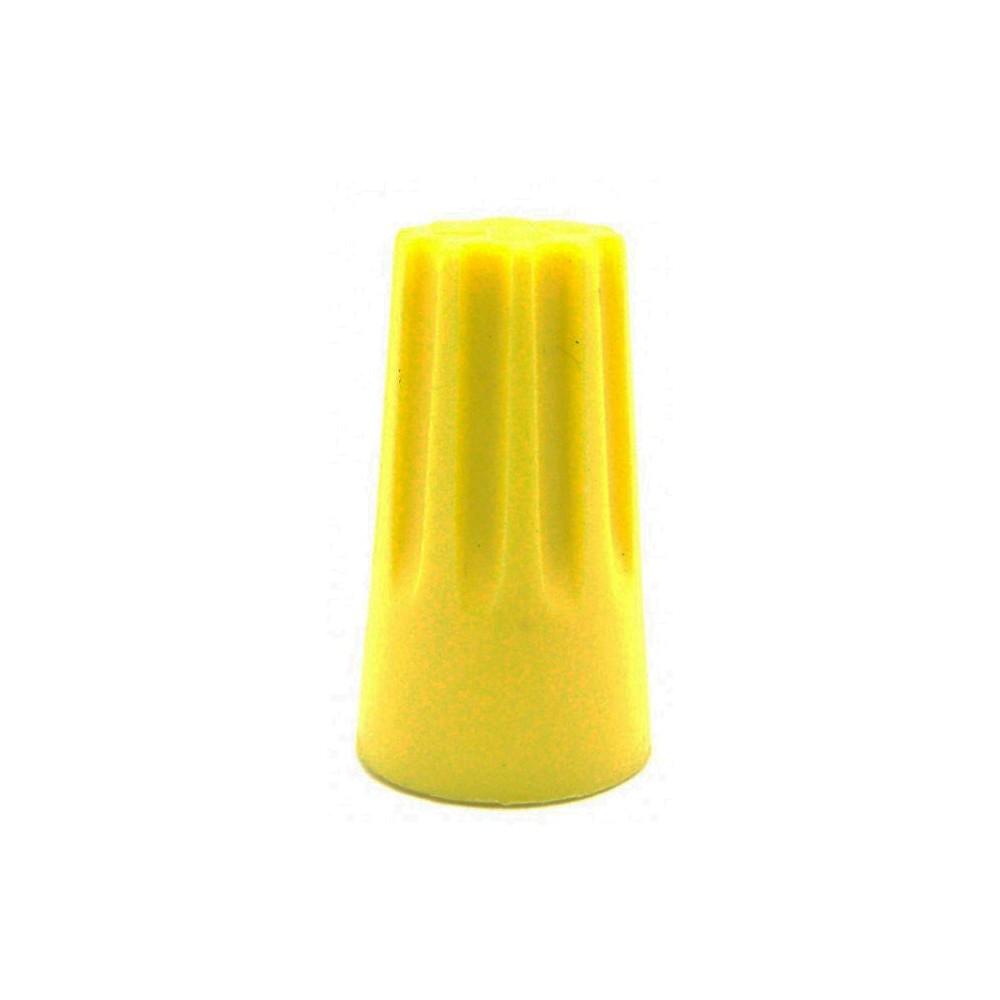 Terminal Conector Torção Amarelo 3 x 2,5mm²  50 Pçs Decorlux