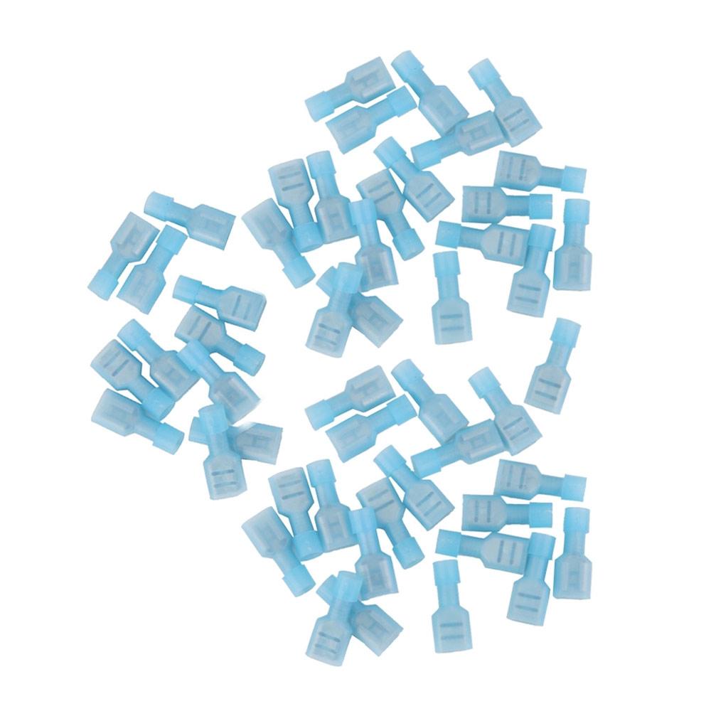 Terminal Luva Fêmea 1,5-2,5mm² 15 Azul com 50 Peças Decorlux