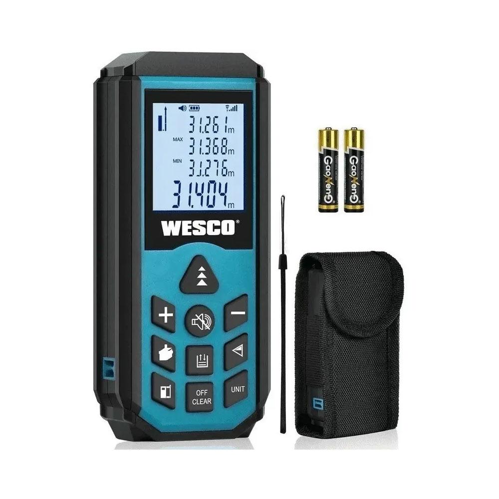 Trena a Laser Digital Manual com Memória 40Mts WS8910 Wesco
