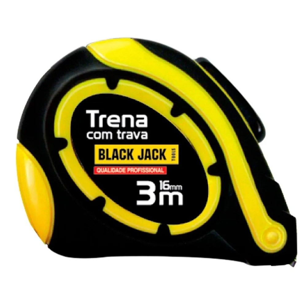 Trena Profissional Trava Automática 3 Metros D005 Black Jack