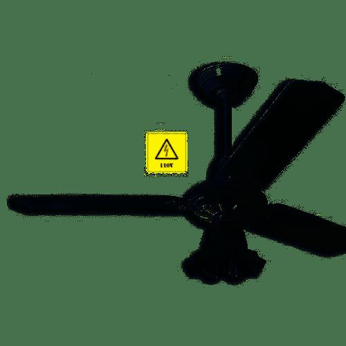 Ventilador de Teto Arge Economic Ventus com Luminária - Branco