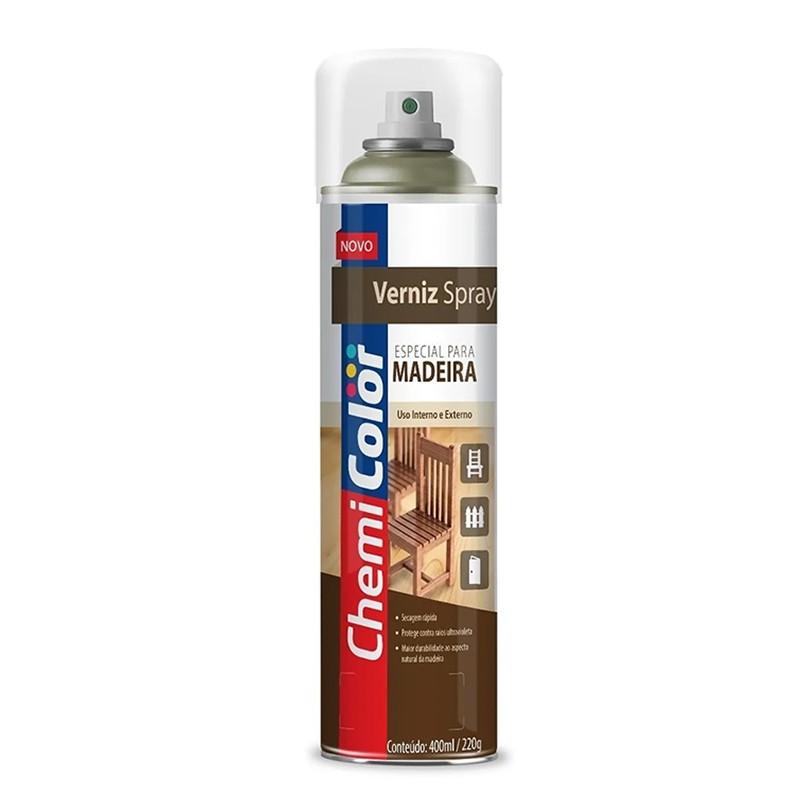 Verniz Spray Especial para Madeira Imbuia 400ml ChemiColor