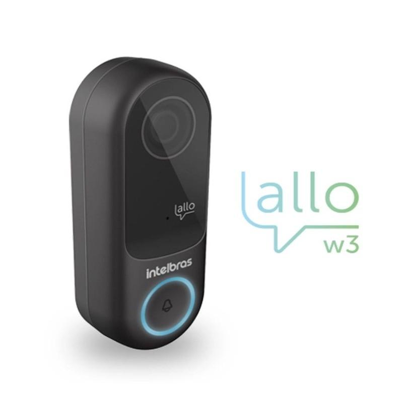 Videoporteiro Wi-Fi Intelbras Allo W3