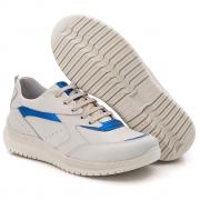Tenis Feminino Modelo TF - 210 Gelo - Azul Marinho