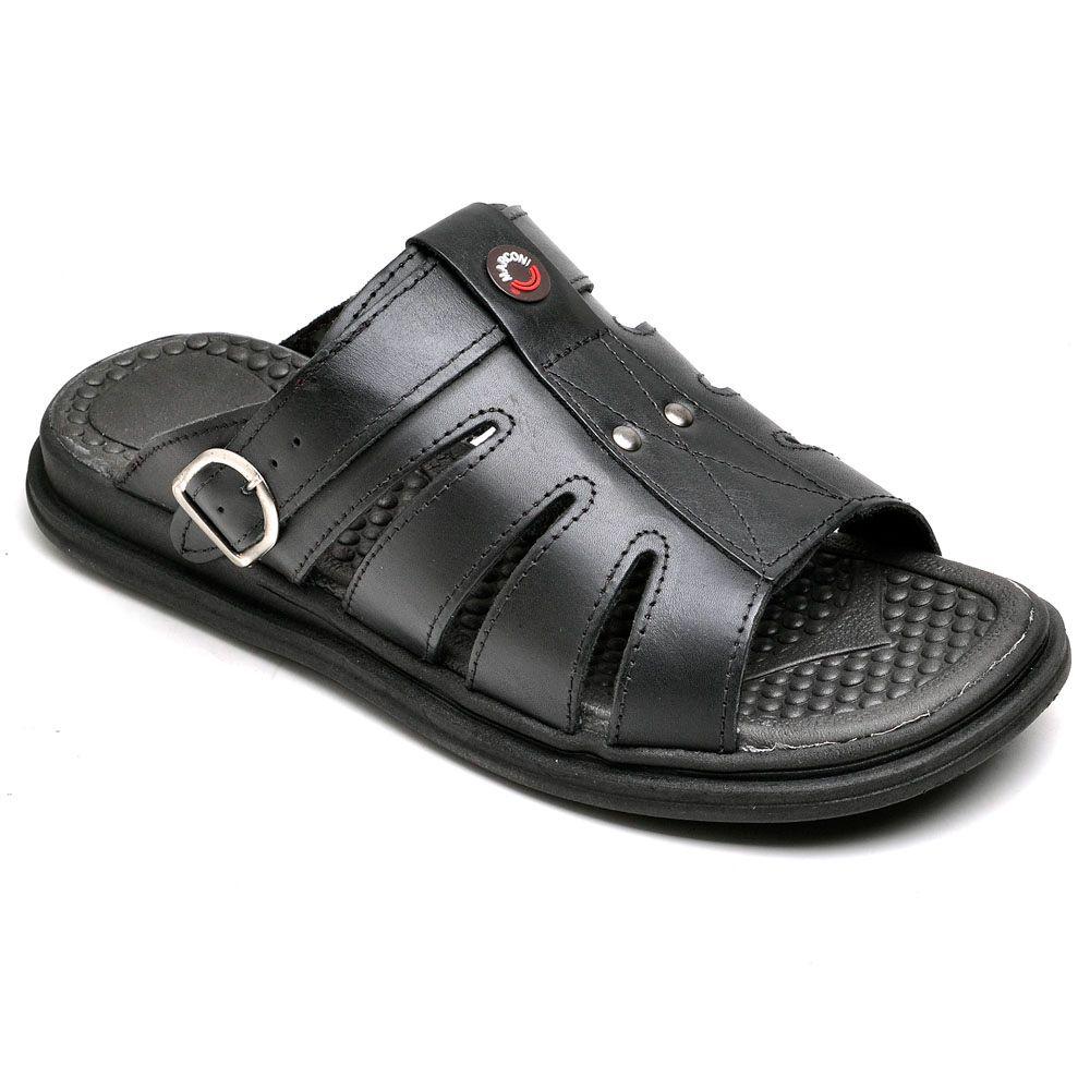 Chinelo Masculino Preto Ranster Comfort - 801
