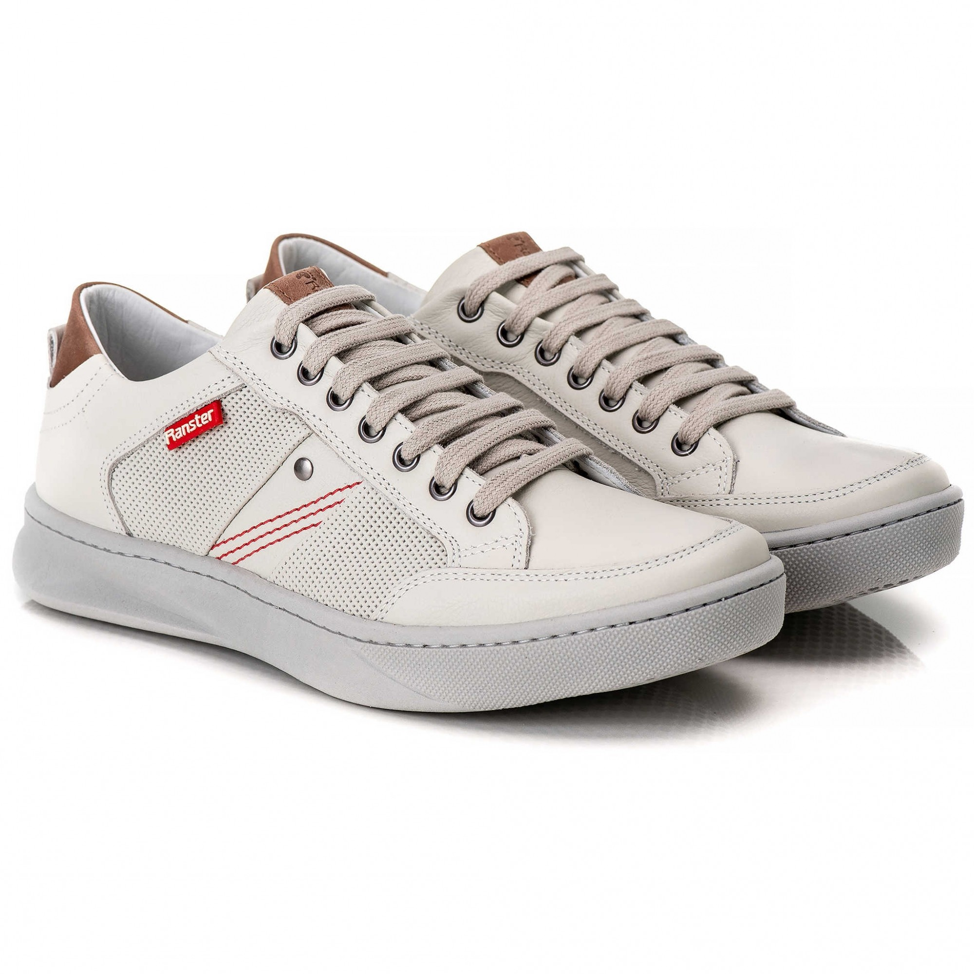 Sapatênis Masculino Coura Legítimo Off White Ranster Comfort - 3020