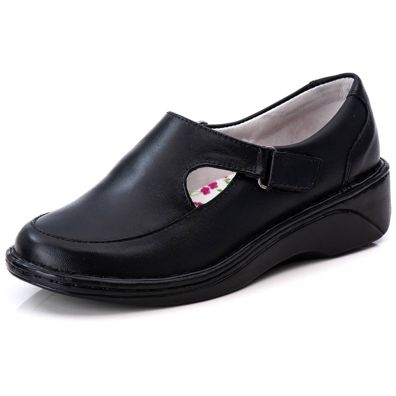Sapato Antstress Feminino em Couro Legitimo F-210