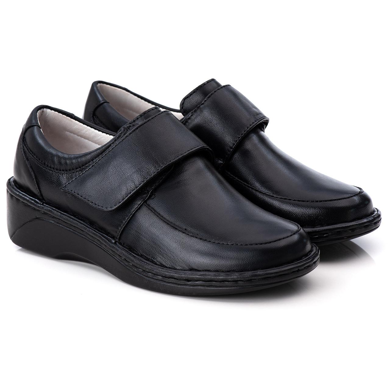 Sapato Antstress Feminino em Couro Legitimo F-220