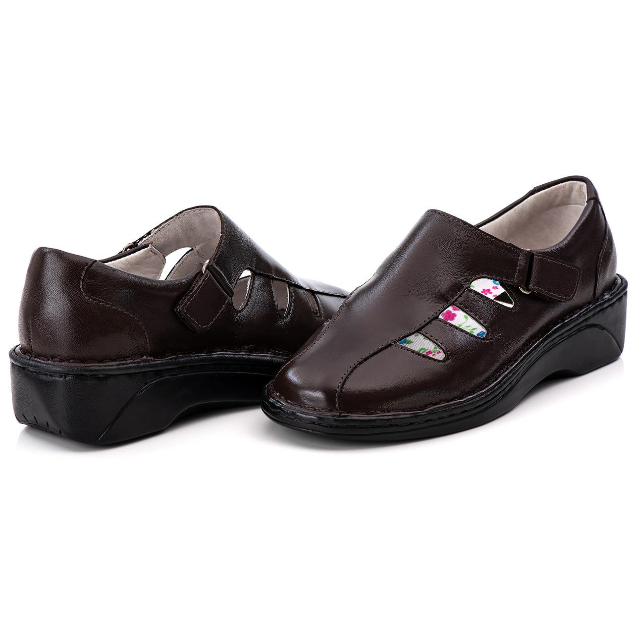 Sapato Antstress Feminino em Couro Legitimo F-230