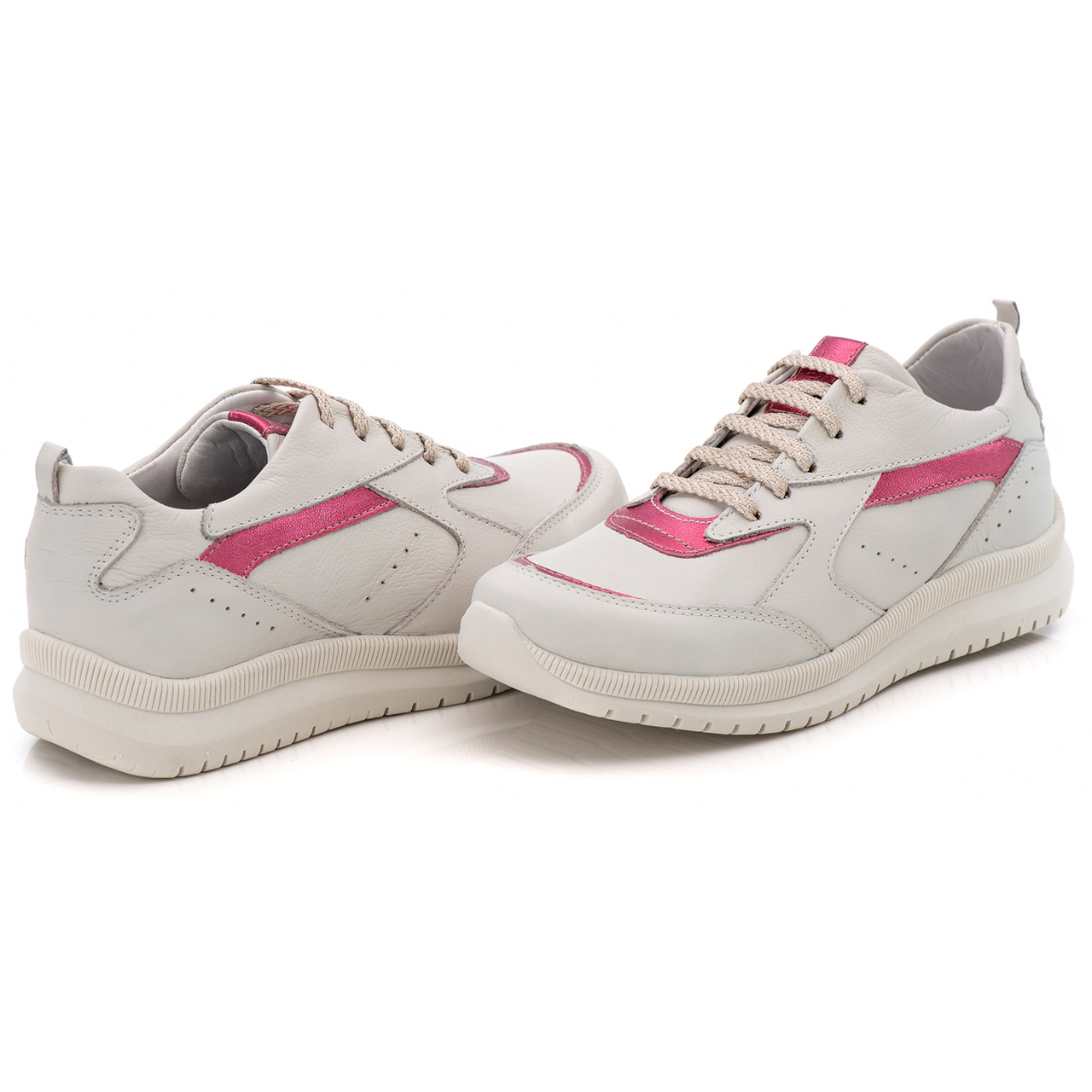 Tenis Feminino Modelo TF - 210 Gelo - Pink