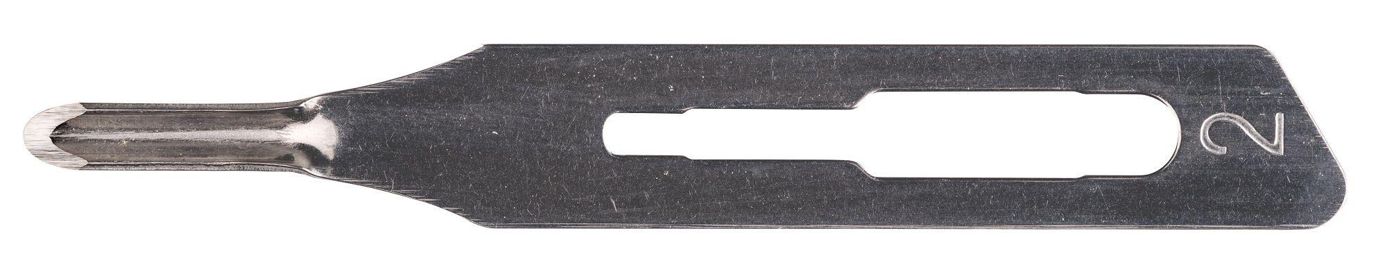 Lâmina de Goiva/Gubia CZ MBI N° 02 (50 Unidades) - Frete Grátis