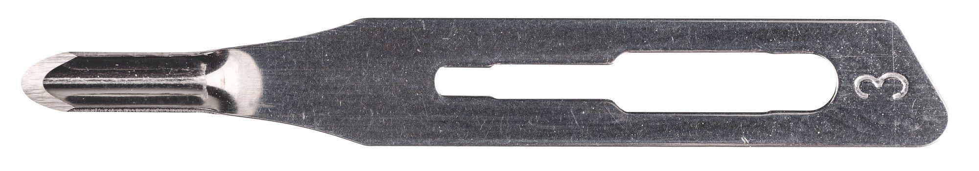 Lâmina de Goiva/Gubia  n° 03 (50 por caixa) - Frete Grátis