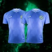 Camisa Goleiro Celeste Masculina 2 Unidades + Cupom Coleção 2021